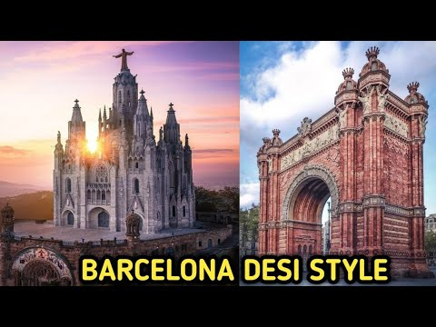 Spain city 4k Barcelona urdu hindi  Spain Barcelona 2018 ll zinga Dinga