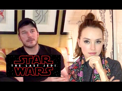 Chris Pratt & More Interrogate Daisy Ridley for STAR WARS: THE LAST JEDI Spoilers (2017)