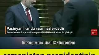 Ermeni Prezidentinin Eline Diqqət İE