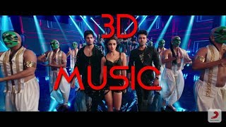 3D MUSIC | LETS NACHO- FULL SONG | KAPOOR & SONS | Let's nacho 3d music