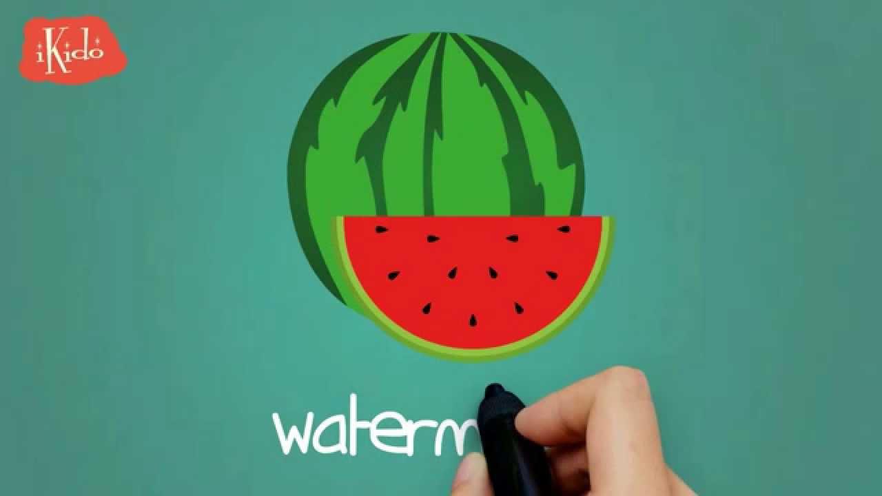 İngilizce Öğreniyorum - Meyveler - Çocuklar İçin İngilizce