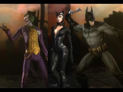 HD Injustice Gods Among Us Arkham City Skin Pack DLC