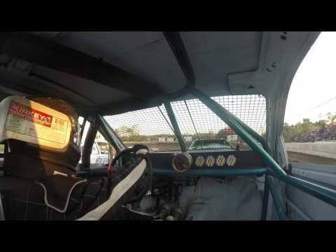 Ransomville speedway 4cyl heat 8/26/16 #43