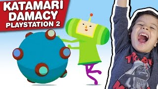 KATAMARI DAMACY - Playstation 2 PS2 - Gameplay Comentado em Português PT-BR