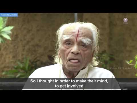 BKS Iyengar - yoga's foremost guru bks iyengar's last unreleased interview