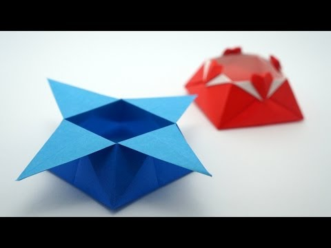 Origami Star Box (traditional model)
