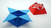 Tutorial Origami Sternschachtel Youtube