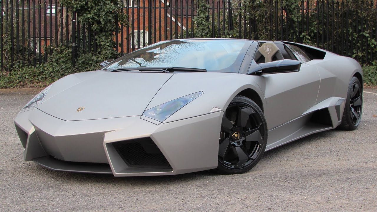 2010 Lamborghini Reventón Roadster Start Up, Exhaust, And