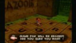 Banjo Kazooie: Grunty ERASES Your Game Pak!