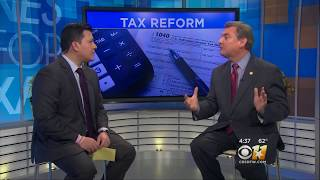 Bill Dendy speaks about Tax Reform on CBS Channel 11