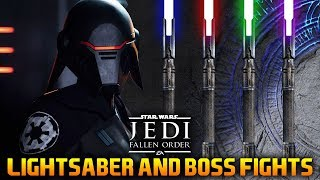 LIGHTSABER CUSTOMIZATION & BOSS BATTLES: Star Wars Jedi Fallen Order