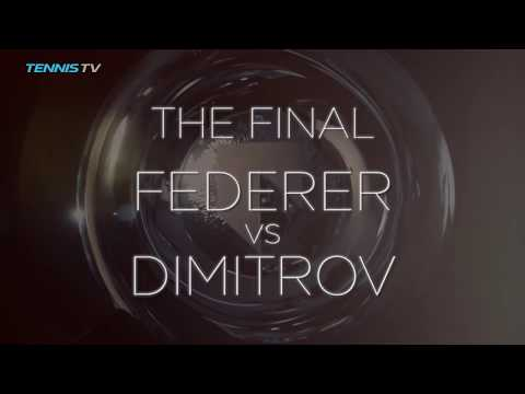 Blockbuster Final Between Federer And Dimitrov Set In Rotterdam