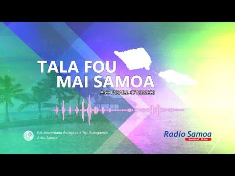 Radio Samoa - News from Samoa (07 MAY 2021)