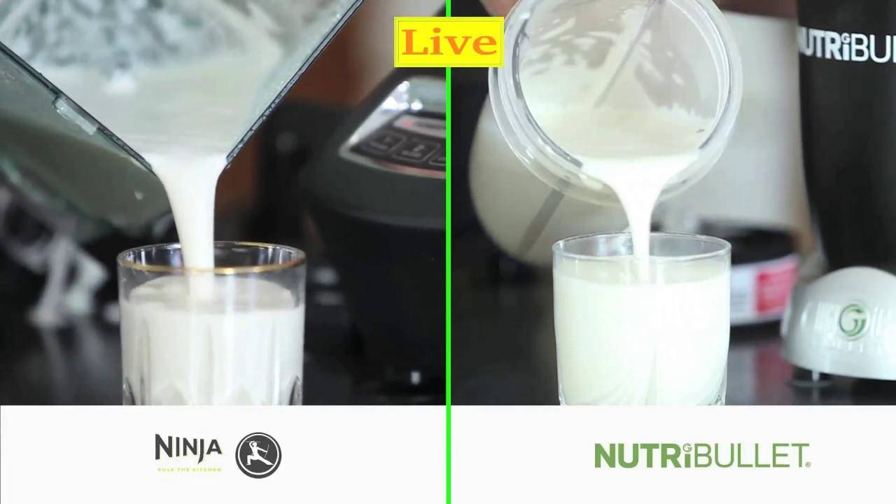 recipe: can i make almond milk with ninja blender [2]