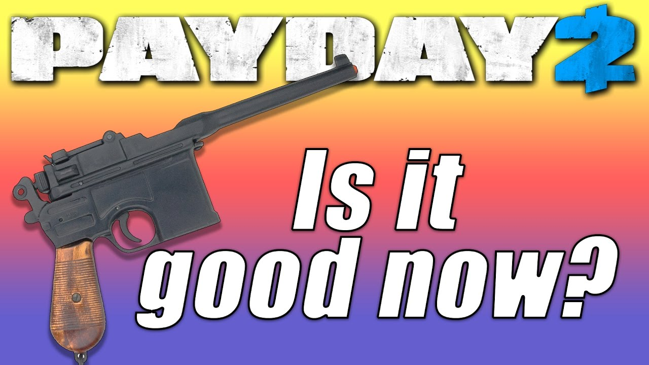 one down build broomstick pistol payday 2 youtube. Black Bedroom Furniture Sets. Home Design Ideas