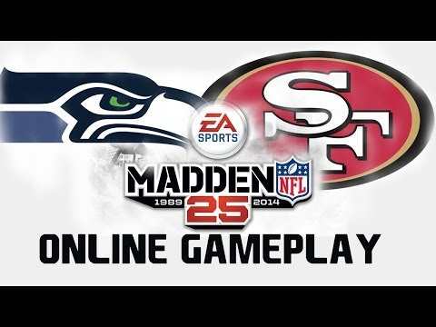 Madden 25 100% Completion | Perfect Passer Rating | Online Gameplay Seahawks vs 49ers