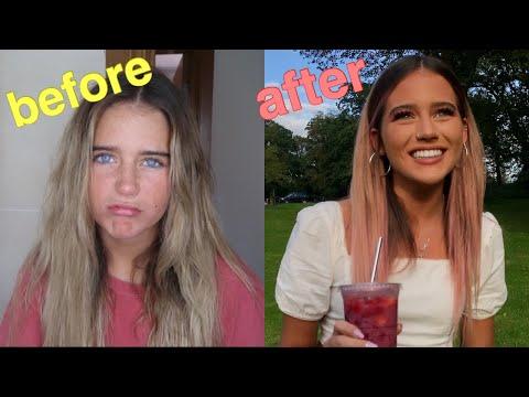 pink transformation *EXTREME GLOW UP*