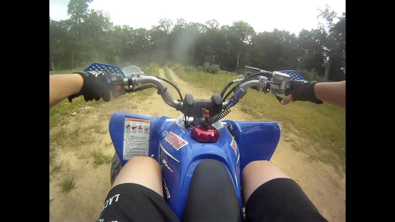 Yamaha raptor 250 riding 9 9 13