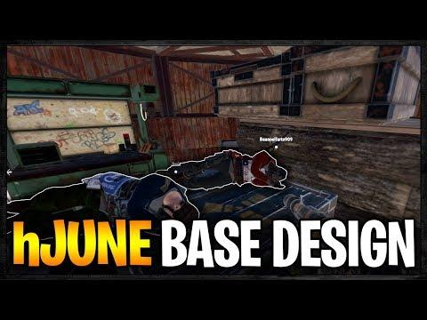 RAIDING hJUNE Base Design for INSANE LOOT - Profit or Fail | Rust Vanilla