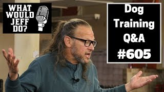 Dog Training - Control Dog Aggression - Stop Dog Whining - What Would Jeff Do? Q&A  Ep.605 (2019)