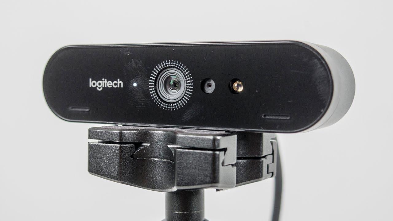 The Best Webcam You Can Buy - Logitech BRIO 4K Webcam - YouTube