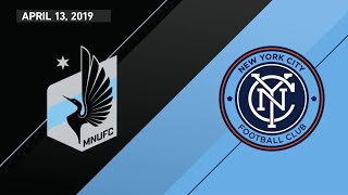 HIGHLIGHTS: Minnesota United 3-3 NYCFC