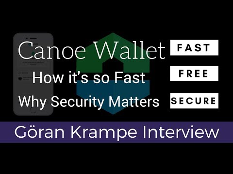 Interview with Göran Krampe of Canoe Wallet - Why Security Matters (Season 1, Episode 2/5)