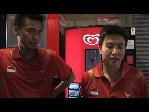 Interview - Indonesia stars Natsir & Ahmad reach 2013 All England final