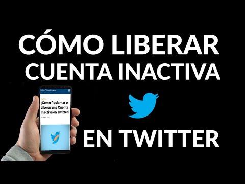 Cómo Reclamar o Liberar una Cuenta Inactiva en Twitter