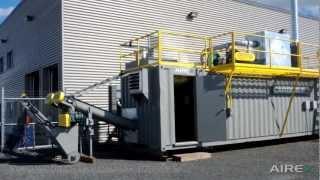 Unité de torréfaction/carbonisation - CarbonFX