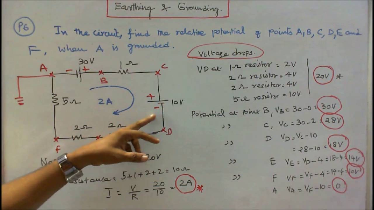 100 PROBLEMS IN ELECTRICAL ENGINEERING - PART - 20 - SIX PROBLEMS ON ...