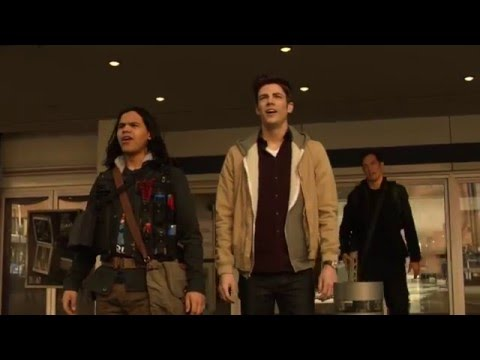 The Flash 2x13:Welcome to Earth-2(SUPERGIRL/90's FLASH)[4K]