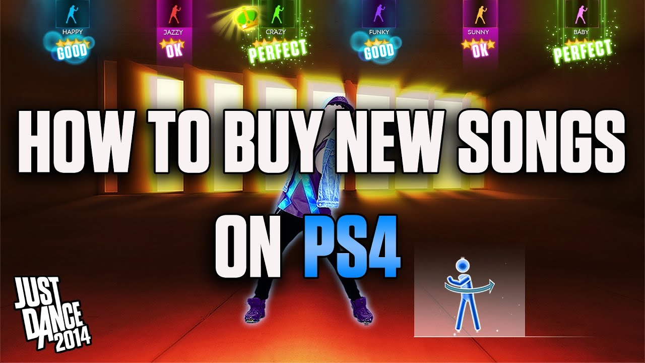 How To Buy New Songs On A Playstation 4 System Just Dance 2014