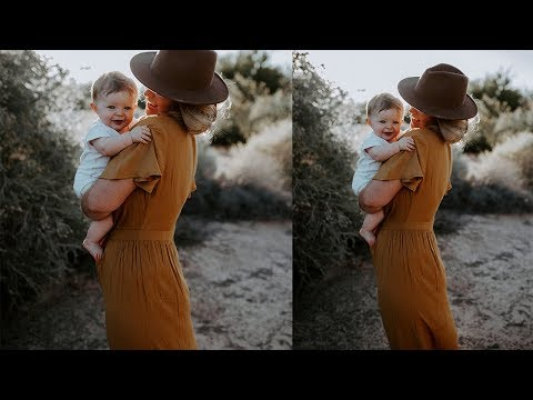 Motherhood Dark and Moody photography editing tutorial thumbnail