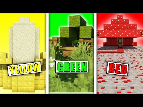 Giving The Best One Color Builder $100,000 in Minecraft
