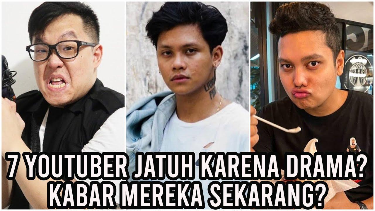 Tujuh (7) YouTuber Dulunya Terkenal Jadi Jatuh Karena Drama? Ada yang Nasibnya Miris Banget!