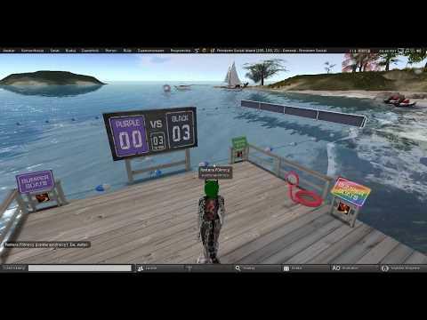 Second Life: Firestorm Gateway regions casual exploration