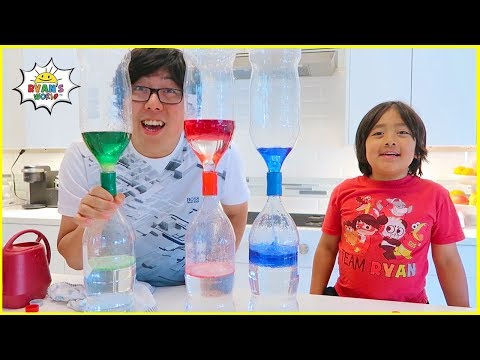 Learn to Make Easy DIY Tornado in a bottle with homemade Lava Lamp and more!