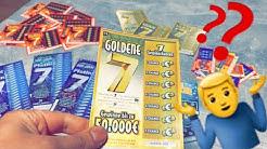 Experiment: Rubbellose🔥 500.000€ Gewonnen !? Rubbeln bis zum abwinken Der Test KINGLucky68