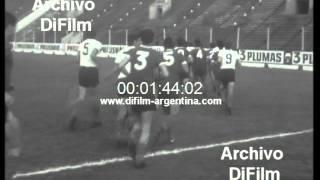 DiFilm - Entrena la Seleccion Argentina en estadio de Huracan (1967)