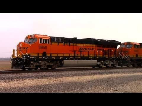A Day on the BNSF's Marceline Sub