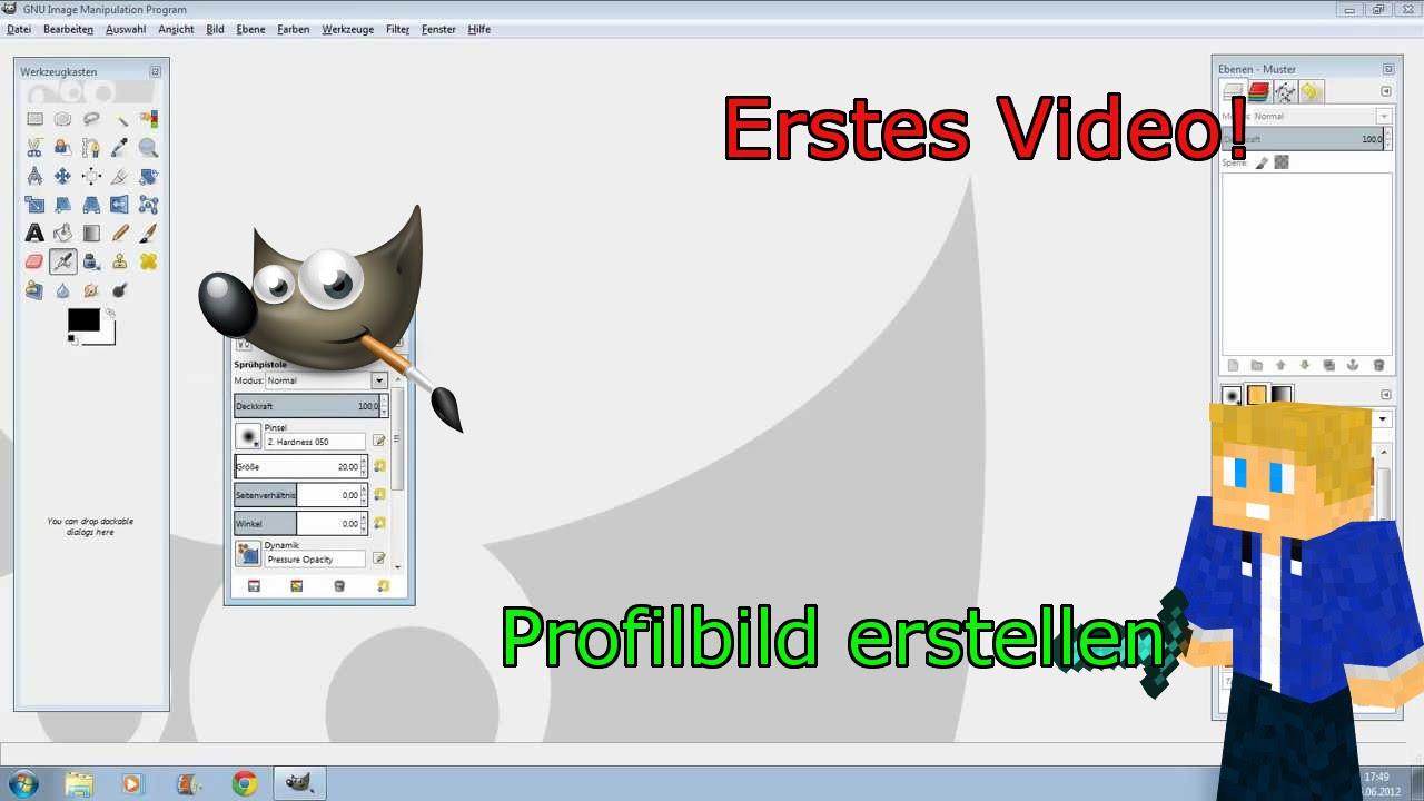 Profilbild Für Youtube Erstellen