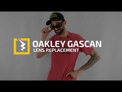 How to Change the Lenses in your Oakley Gascan