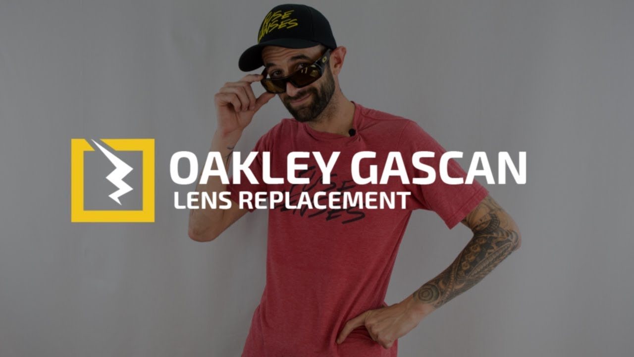 e991152a62 How to Change the Lenses in your Oakley Gascan - YouTube