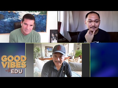 Comedy Manila's GB Labrador & Filipino stand-up comedy legend, Rex Navarrete on Good Vibes with Edu