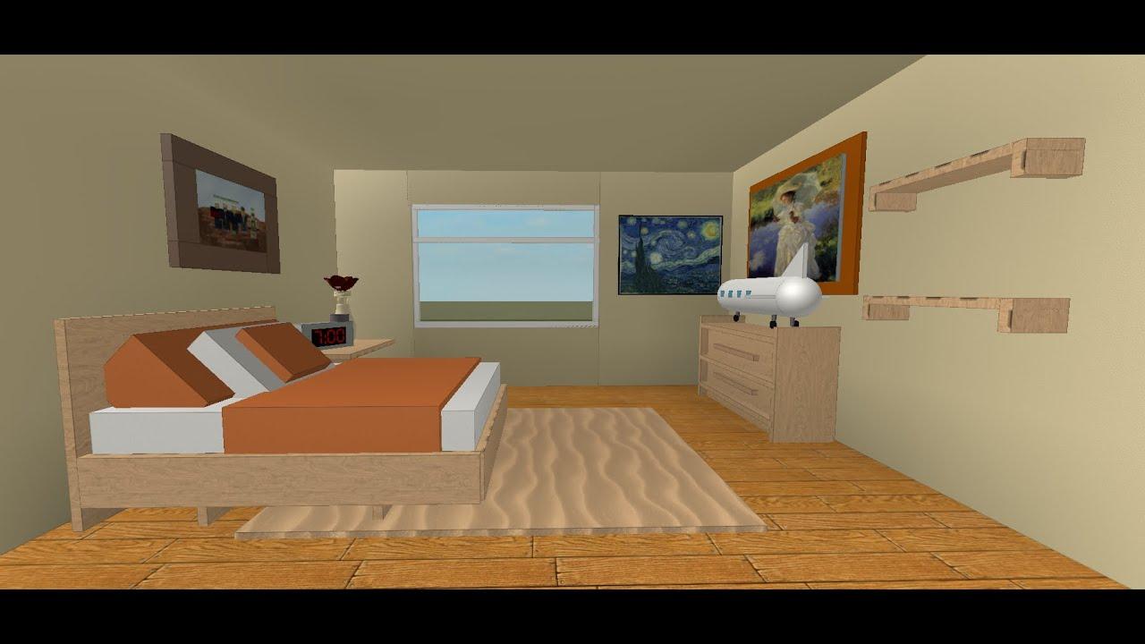 Roblox Bedroom Speedbuild 1 Youtube