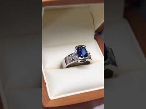Montana Yogo Sapphire Ring