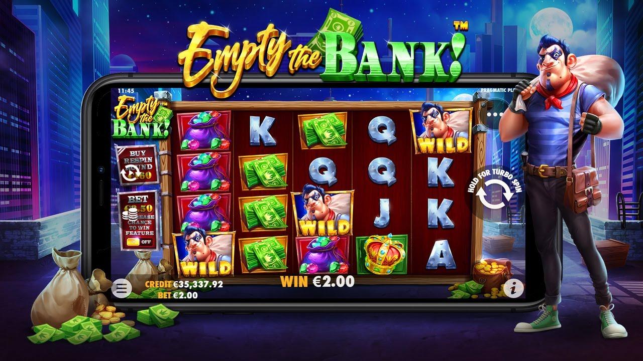 Permainan Slot Empty The Bank dari Pragmatic Play