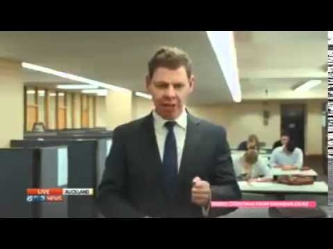 NZ reporter captured swearing after...