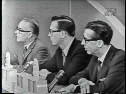 """Jazz broadcaster and producer Willis Conover on """"To Tell the Truth"""" (April 8, 1963)"""